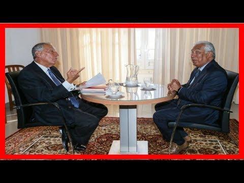 Belém - presidente da república recebe primeiro-ministro pelas 18:00