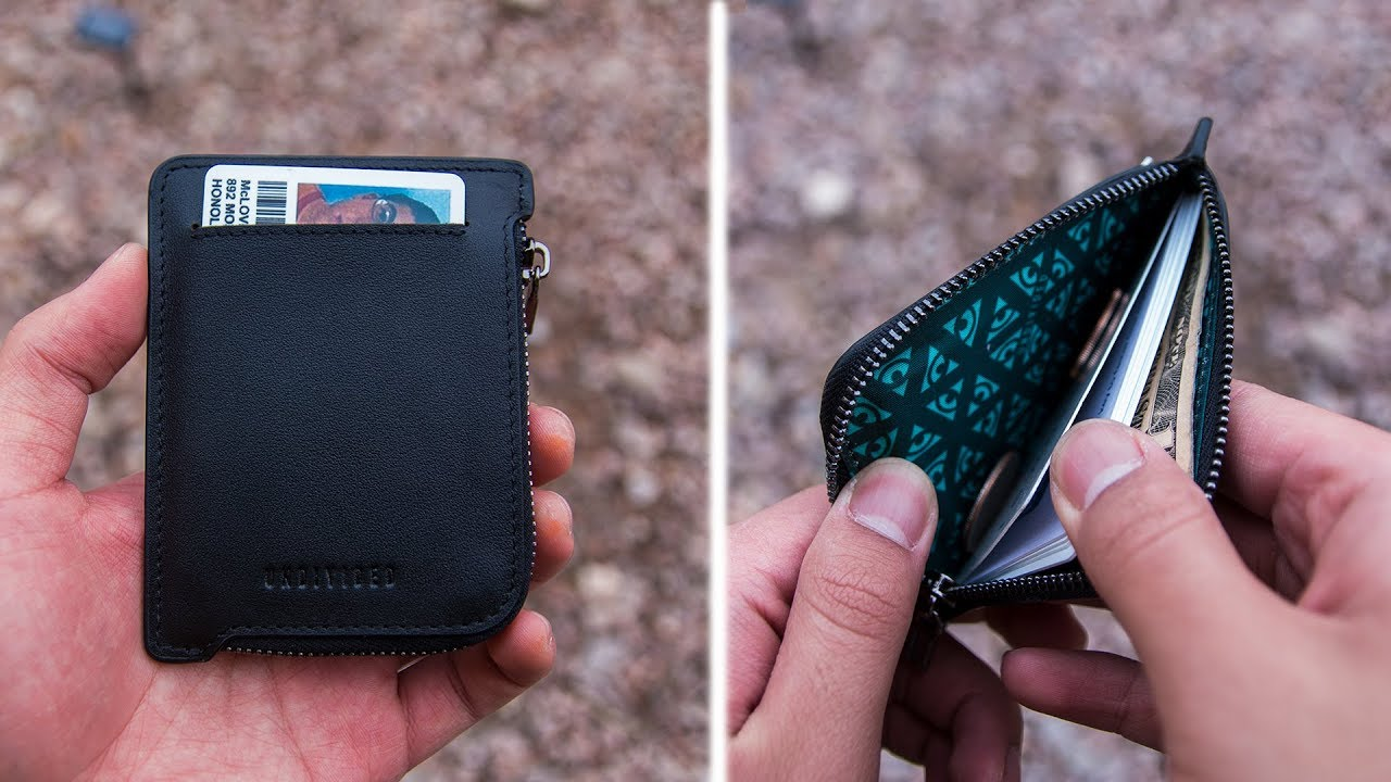 Best Minimalist Wallet That Can Hold Coins Undivided Wallet