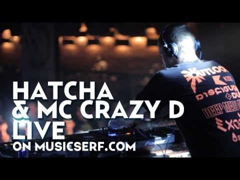 HATCHA & MC CRAZY D live at Bass Exe Festival (Saint-Petersburg, Russia) in March 16, 2012