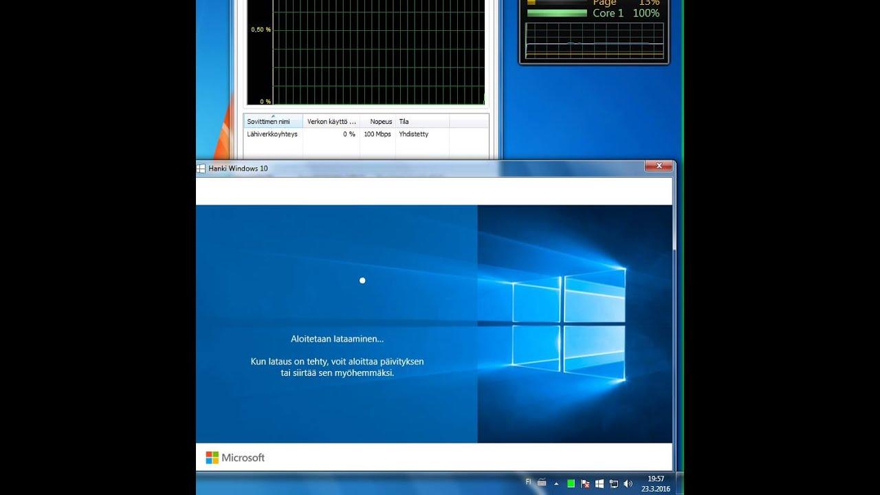 Windows 10 Päivitys