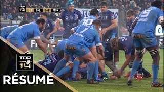 TOP 14 - Résumé Grenoble-Montpellier: 17-16 - J12 - Saison 2018/2019