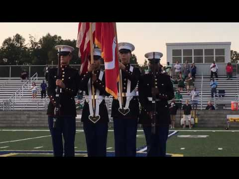 Color Guard @ Friday Night Football vs White Station