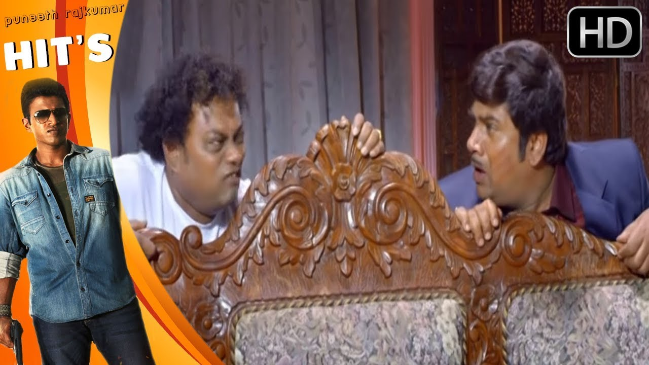 Rangayana Raghu And Sadhu Kokila Best Comedy Scene | Power Kannada Movie | Puneeth Rajkumar, Thrisha