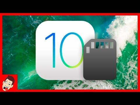 Самый простой способ как очистить память айфон с iOS 10 без джейлбрейка и компьютера