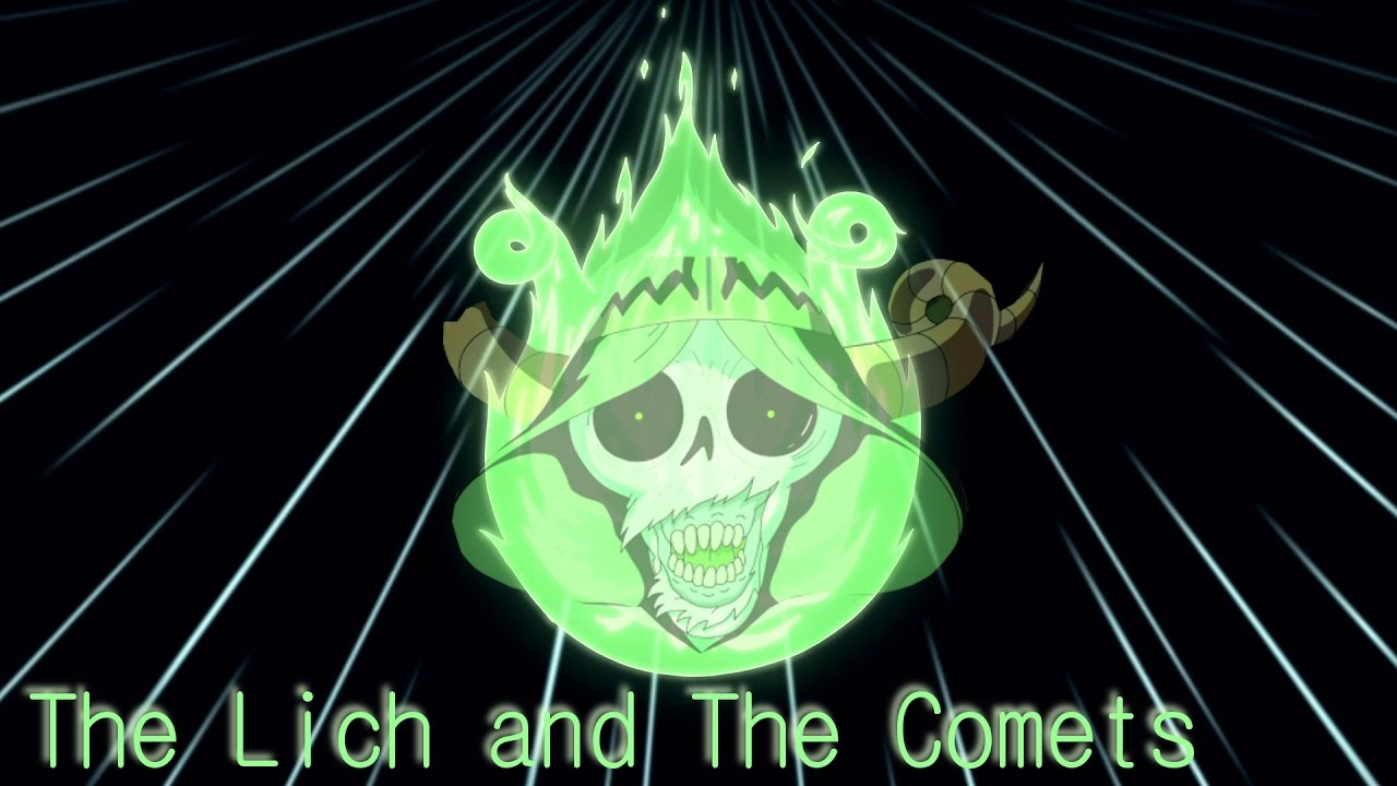 Adventure Time Explained The Lich And The Comets Is