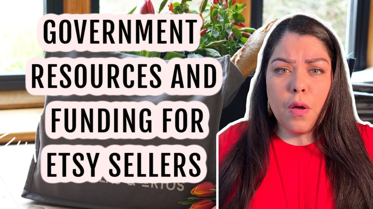Government Resources and Funding For US Etsy Sellers | Etsy Help | Nancy Badillo
