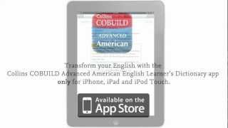 Collins COBUILD Advanced American English Learner's Dictionary app Thumbnail