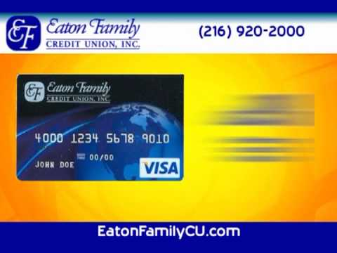 No Annual Fee Secured Visa From Eaton Family Credit Union