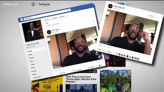 Tyler Perry addresses Facebook scams saying he's not giving away anything