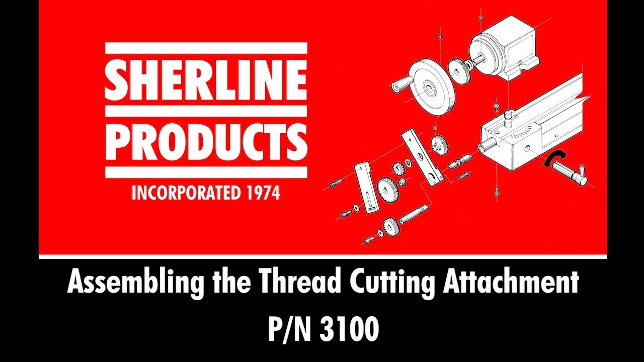 Sherline 3100 Thread-cutting Attachment