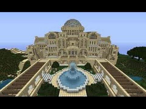 Biggest Minecraft House In The World 2013 the best minecraft house ever built in 1.7.7 - youtube