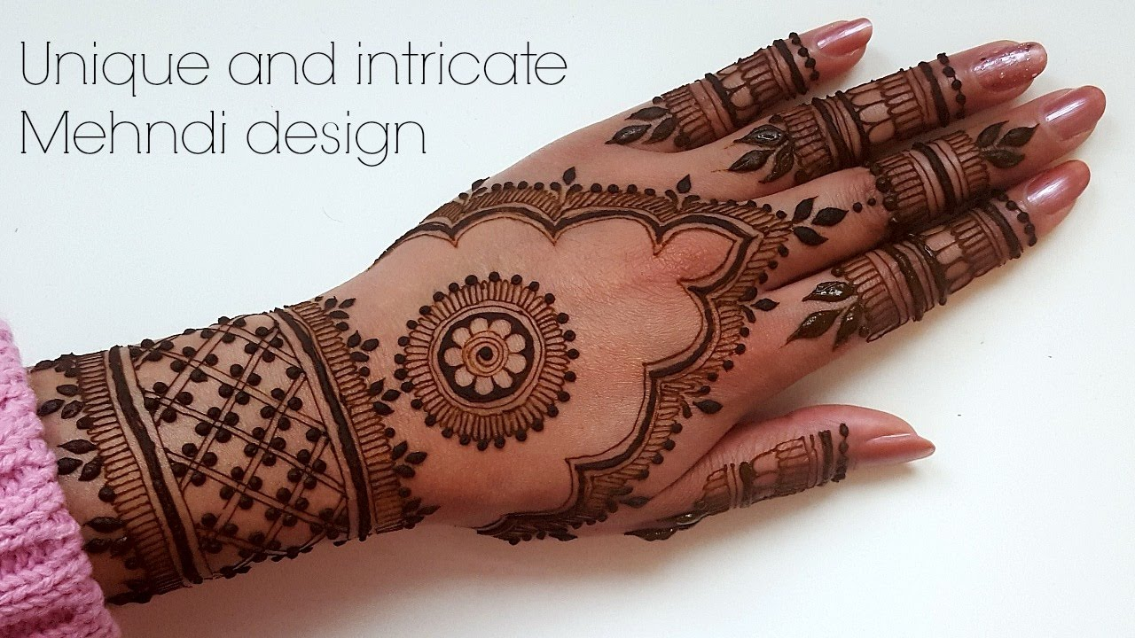 Best Henna Designs: New Beautiful Henna Mehndi Design For Top Of Hands
