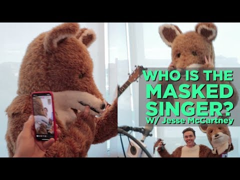 In-Studio Videos - Who is The Masked Singer?  (Shhh... it's Jesse McCartney)