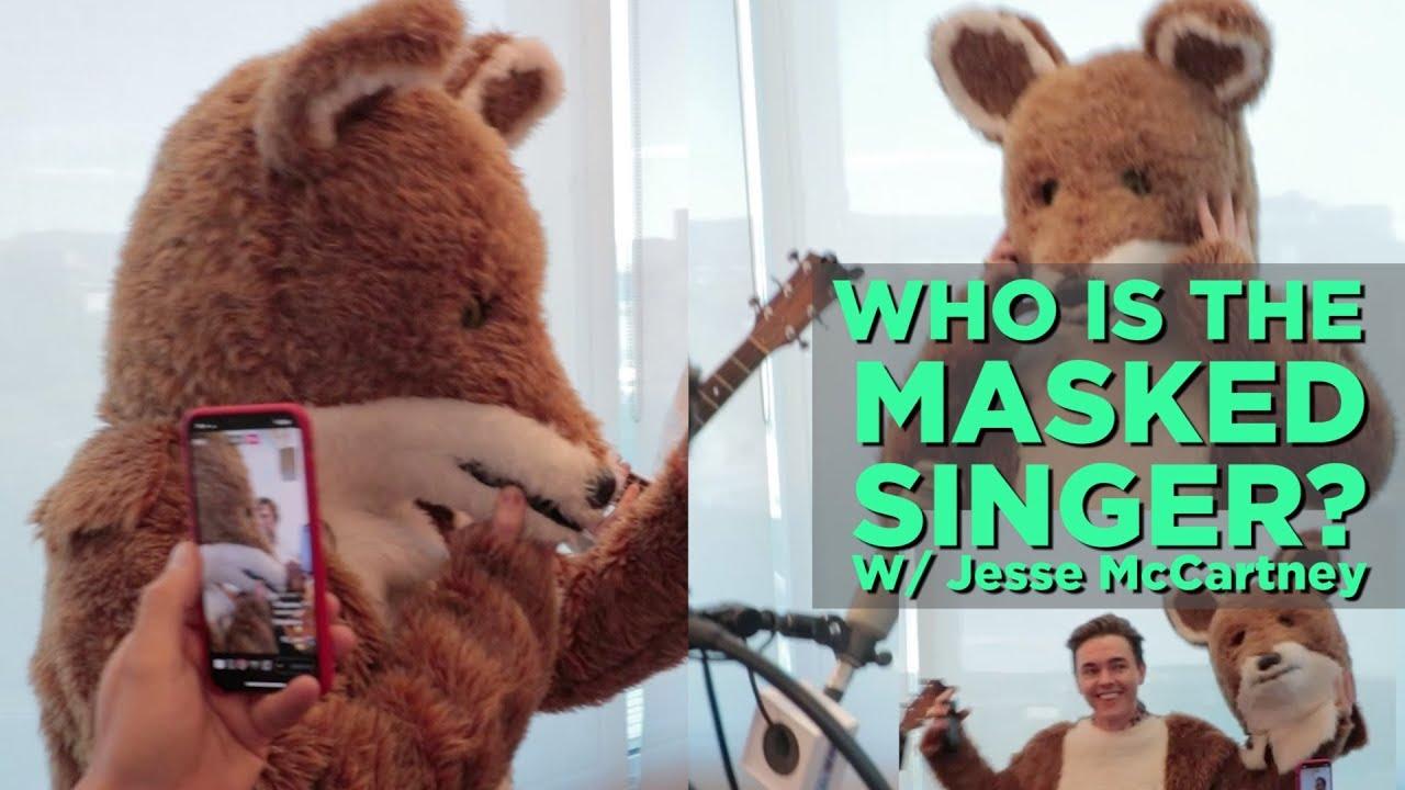 Jesse McCartney ('The Masked Singer' Turtle) unmasked interview ...