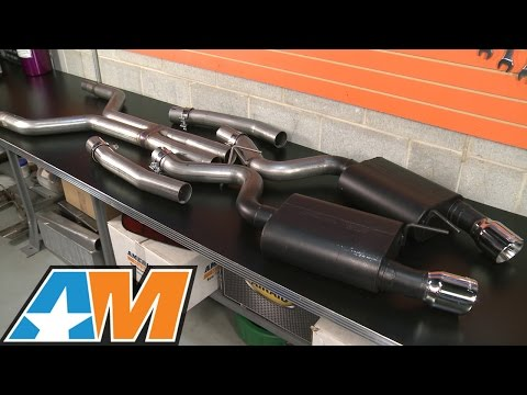 2015-2016 Mustang GT Flowmaster Exhaust Sound Clip American Thunder Catback Review