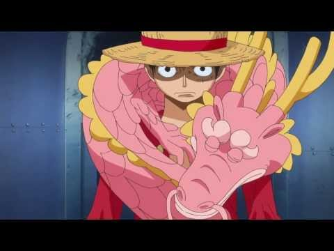 One Piece Luffy's epic conqueror's Haki in Punk Hazard