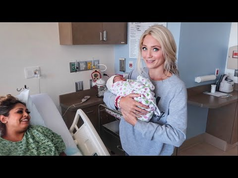 SAVANNAH HELPS DELIVER BABY JAYDEN!!! (SO CUTE)