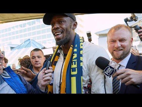 Usain Bolt tenta nova carreira no futebol australiano