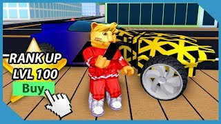 Sbloccato L'hyperdrive Car in Roblox Mad City (Stagione 3 Rank 100 Ricompense)