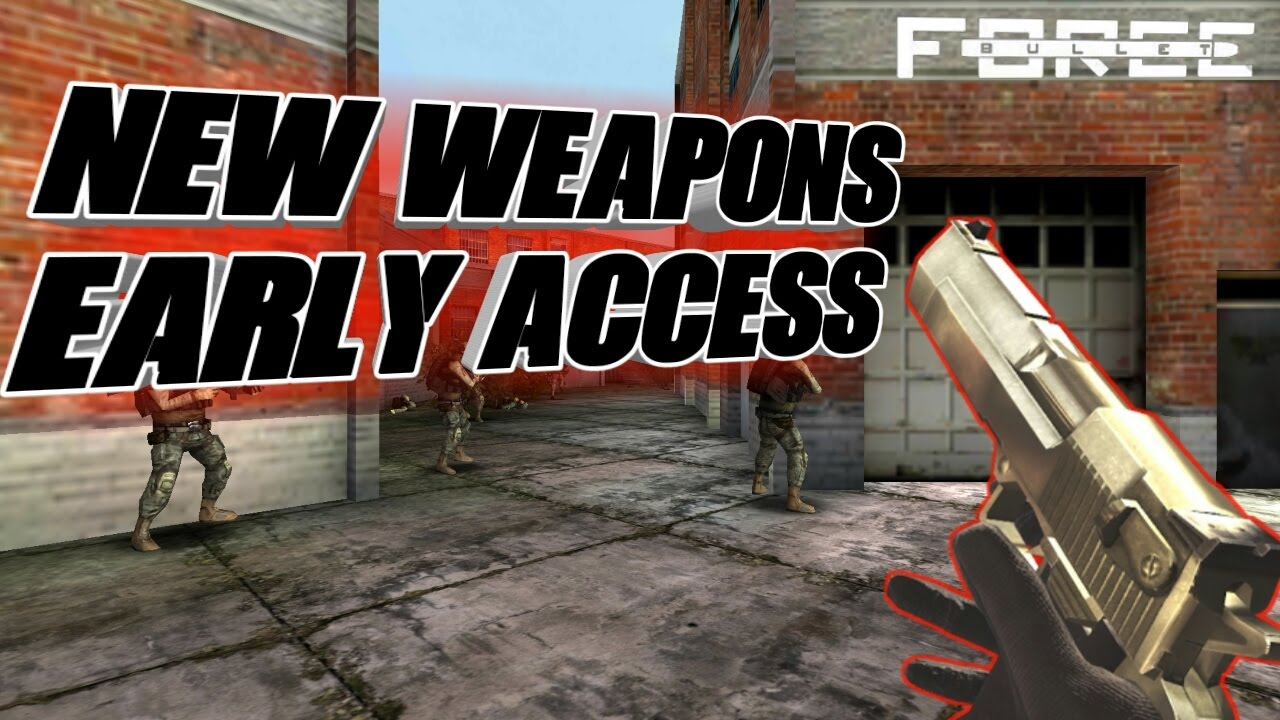 how to get free weapons in bullet force