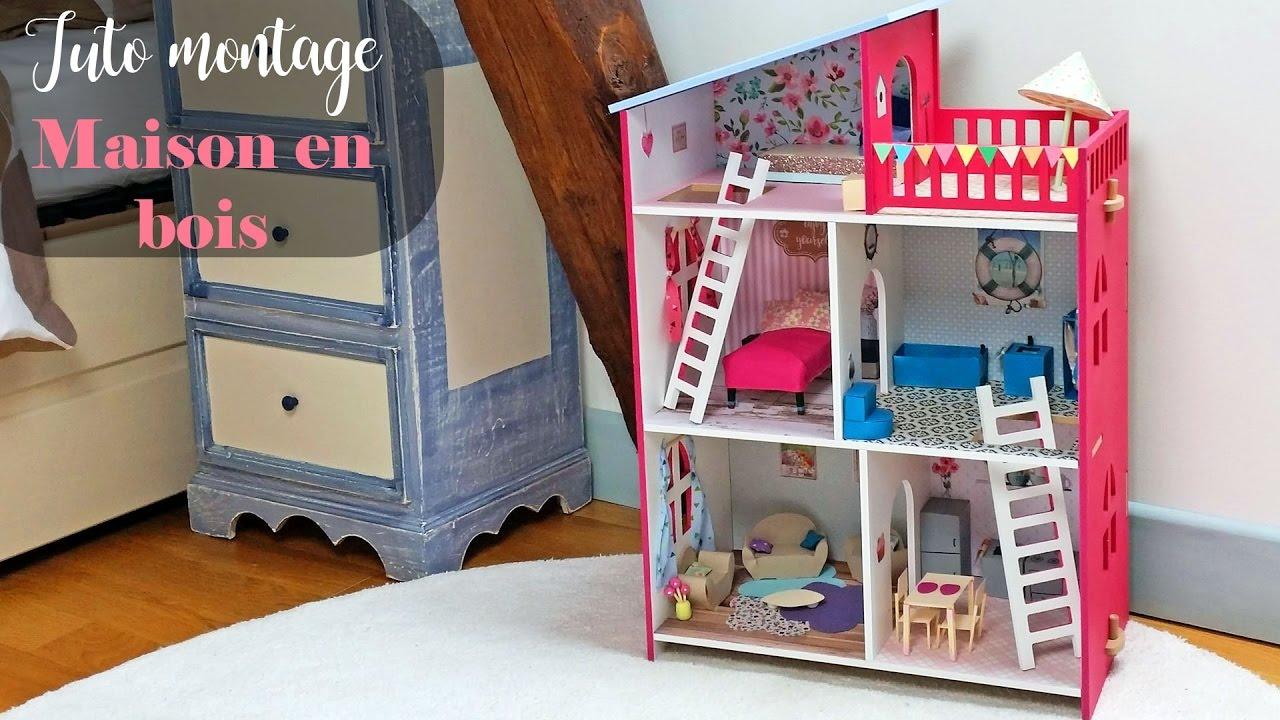 diy tutoriel pour monter une maison en bois pour. Black Bedroom Furniture Sets. Home Design Ideas