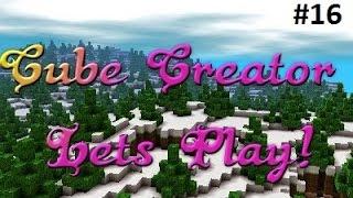 Cube Creator 3D Pt16: My Creative Mode World! (Nintendo 3ds)
