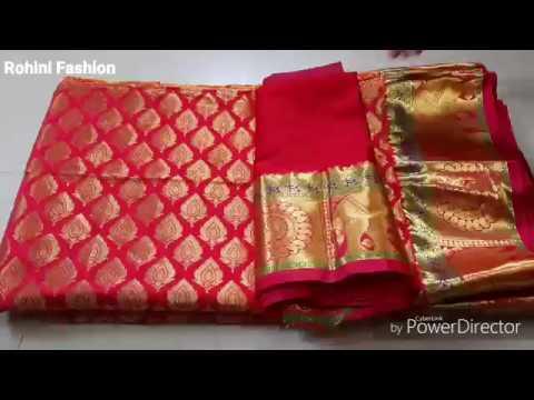 Beautiful Silk Saree Blouse Back Neck Design Cutting And Stitching Back Neck Youtube