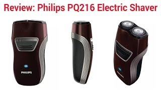Review: Philips PQ216 Electric Shaver