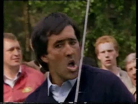Seve Ballesteros Dunhill British Masters Woburn 1986 Final round highlights