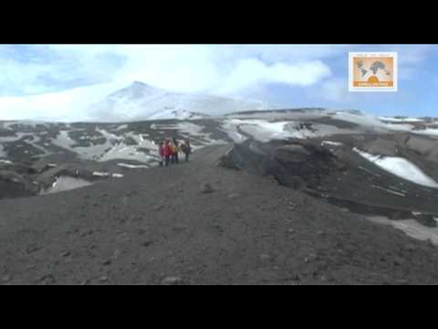Antarctica- Visit to Volcano site