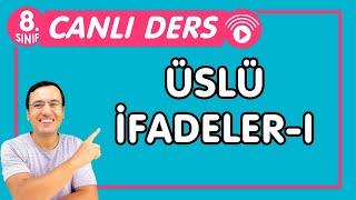 ÜSLÜ İFADELER-1  LGS Matematik CANLI DERS Konu Anlatımı-PDF (8.Sınıf  İMT)