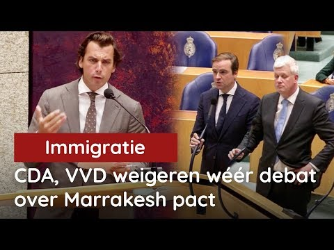 CDA en VVD weigeren wéér debat over omstreden Marrakesh Immigratiepact