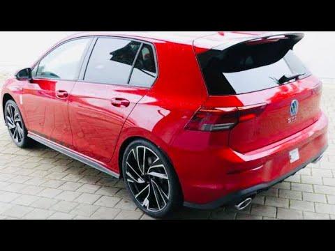 New Golf 8 Gti Clubsport Kings Red 2021 2 0 Tsi 300ch Mk8 Youtube