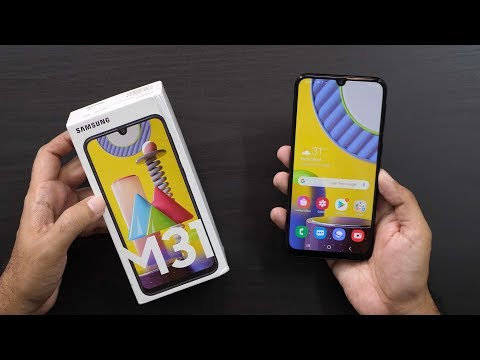 Samsung Galaxy M31 with 64MP Camera & 6000 mAh Unboxing & Overview