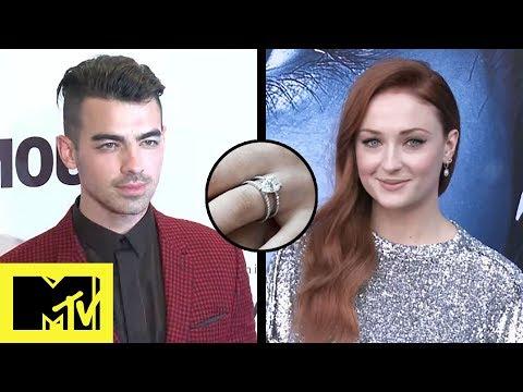 Joe Jonas & Sophie Turner Are Engaged!  MTV