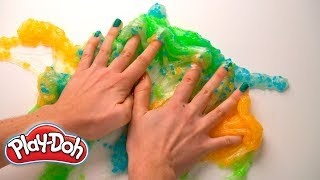 ASMR-Inspired Slime & Putty | Play-Doh Oddly Satisfying Series | Play-Doh: Creative Ideas for Kids