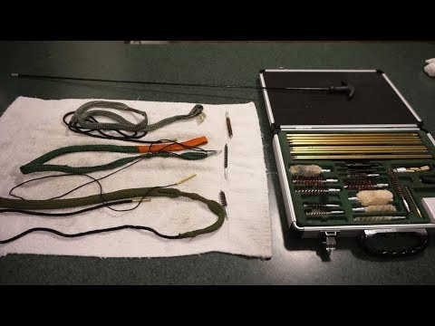 To bore snake, or not to bore snake, that is the question:  Bore snakes vs. cleaning kits/rods