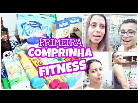 PRIMEIRA COMPRINHA FITNESS | CAROL ARAÚJO