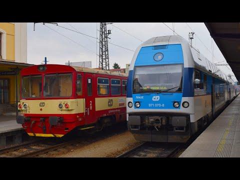 Vlaky - Benešov u Prahy - 17.3.2017