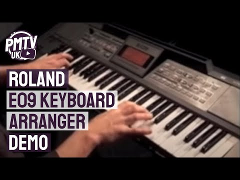 Roland E09 Keyboard Arranger Demo