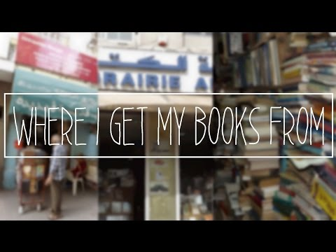 Where I Get My Books From | A Tunisian Reader