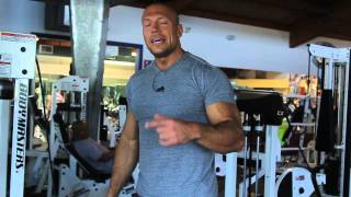 The Rock. Тренировка Дуэйна Джонсона - НОГИ!!!