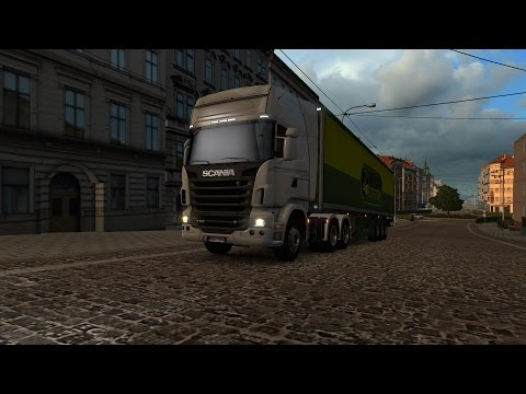 Euro Truck Simulator 2 - SCANIA R620 V8 - Delivering atlantic cod fillet from Kärsämäki to Helsinki