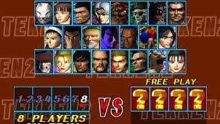 Tekken 2 ePSXe2.0.5 Random Team Battle