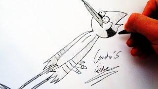 Como Desenhar o Mordecai [REGULAR SHOW] - (How to Draw Mordecai) - SLAY DESENHOS #58
