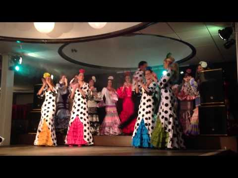 Ballet Viva España y Desfile Caroly Moda Flamenca 2014
