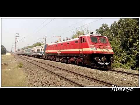 SER!! VSKP P4 VS SRC P4| GEETANJALI SF EXPRESS MADLY CHASING bhubaneswar JAN SHATABDI EXPRESS(hd)