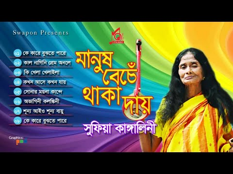 Kangalini Sufia  - Manush Beche Thaka Day | মানুষ বেঁচে থাকা দায় | Full Audio Album | Music Audio