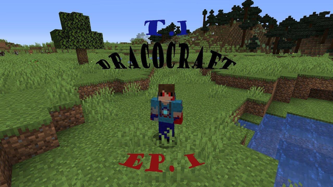 El Inicio de una gran aventura / ep1 / Dracocraft #1 / Minecraft