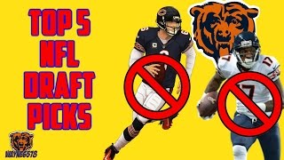Top 5 NFL Draft Picks Chicago Bears Should Draft Since Jay Cultler & Alshon Jeffery Are Gone! Free HD Video